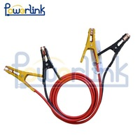 400 AMP Heavy Duty Jump Leads Battery Starter Set Jumper Cable in Travel Bag and Safety Gloves