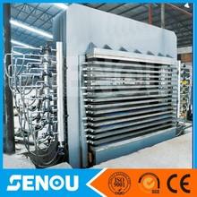 hot press machine for densified laminated board