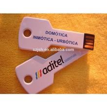white key usb flash drives,key shape usb