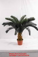 SJH122650 artificial bonsai plants making artificial bonsai plastic Cycas revoluta 32 leaves