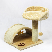 BSCI QQfactory cat tower / house cat / cat condo with ISO & SGS
