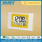 Digital Automic alarm clock with room temperature and calendar