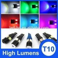 High Bright 12V 24v T10 4smd 5050 5W DC diy led auto lamp