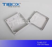 TIBOX hot sale high quality waterproof/dustproof IP66 ABS Waterproof Enclosure/ Outdoor electronic enclosure 175X175X75mm