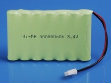 ni mh rechargeable battery pack aaa 650mah 4.8v recharge batteries