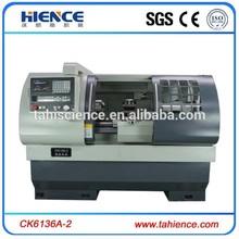 CK6136A-2 automatic china fanuc cnc flat bed lathes machine