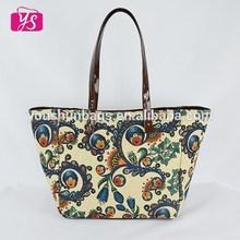 2015 high quality fashion jute tote bag