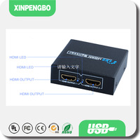 Wholesale Good Quality HDMI Switch Splitter 1 in 2 out Compatible HDCP