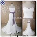 Jj3672 decote sereia removbale sash sexy vestidos de casamento imagens
