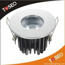 IP65 Fire-rated COB 10 watt led downlight