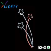 Customize LED motif light christmas series, Acrylic 3D Sculpture Feature Light