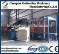 Machine de brique avec contrôle plc, hydraulique bloc margelle machine, de haute qualité efficace hydraform machine de bloc