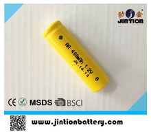 1.2V Nicd AA 400mah rechargeable battery cell
