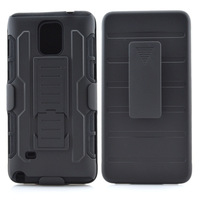 Future Soldier Clip Belt Armor case for Samsung Galaxy Note 4
