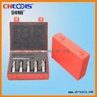 HSS core drill bit weldon shank with TIN coated set