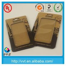 Custom blister packaging for mobile phones