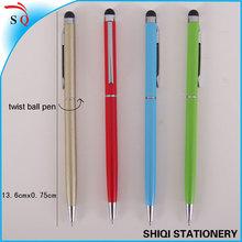 twisting cheap hotel metal pen
