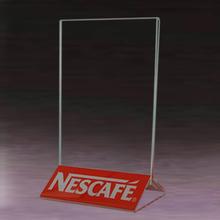 high quality cheap plexiglass plastic menu holder/acrylic restaurant menu card holder