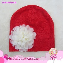 High quality Younger Girls Baby Infant Toddler Elastic Lace Headbands
