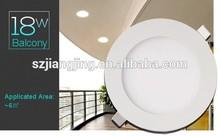 Ulta bright 85lm/w CE Smd2835 3w 4w 9w 12w 15w 18w Slim Recessed Round Ceiling Led Panel Light