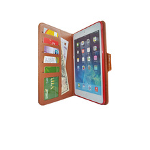 TPU case back cover Wallet leather case for Ipad mini, for ipad mini case with wallet