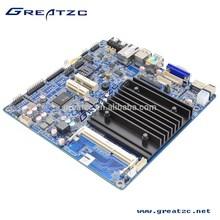 ZC-BT19SL Fanless J1900 Mini Itx Motherboard,Fanless Motherboard DC12V,Fanless Motherboard