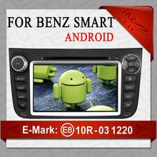 Manufacturer For Smart Fortwo 2011-2012 Car DVD player with GPS Navigation(AL-9310)