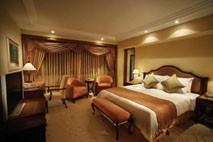 3D design bedroom set for hotel project