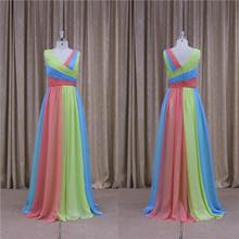Glamorous beaded sash evening dress fashion 2012 free shipping