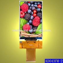 KD043FM-2 4.3inch IPS LCD module, HX8369A,480*800,support MCU/RGB interface