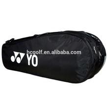 high quality printed logo polyester badminton bag battledore bag