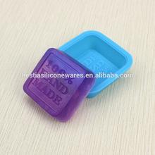 çin tedarikçisi amazon sıcak gıda sınıfı yapışmaz el yapımı silikon sabun kalıpları 100% el yapımı