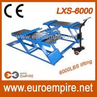 China supplier new product auto repair 220v car lift/scissor lift used/ hydraulic engine hoist