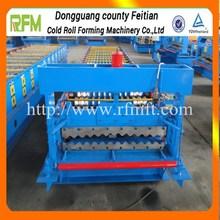 galvanized color metal corrugate /color steel roll forming machine