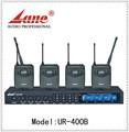 Lane*ur- 400b alta qualidade profissional de microfone sem fio escondida para o desempenho/conferência/show