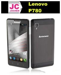 100% Original Lenovo P780 Mobile Phone MTK6589 Smartphone 3G 5 inch IPS 8GB Android 4.2 Multi-language-White/Black