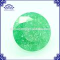 taglio brillante rotondo sintetico verde