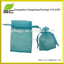 wholesale organza sheer mesh cheap promotional drawstring bags