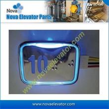 DC24V Red/ Blue Light Elevator Push Button, LG Push Buttons