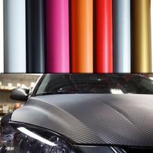 Hot selling auto accessories 3D carbon fiber car body sticker