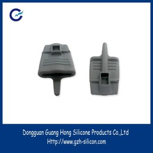 customized silicone rubber soft finger parts for Finger Heart Rate Meter made in Guangdong