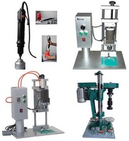 Pneumatic press capping machine