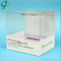 Clear Hard PVC Plastic Folding Box Pack For Bed Sheet with higi quality