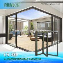 Multiple sizes functionality aluminum cabinet door frame