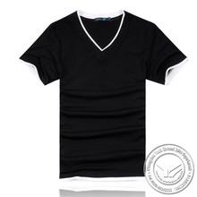 220 grams hot sale cotton/bamboo fiber 2014 pique cotton polo t shirt