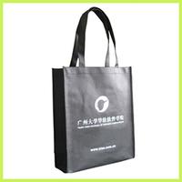 black clear Organ Bag Non Woven Bag Gusset Bag