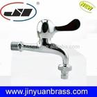 China Brass Taps water bibcock 1/2 lever singer handle washing Tap