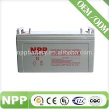 12V 120AH replace ups external solar batteries for solar lights
