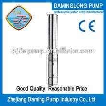 full stainless steel low flow high head italian water pumps