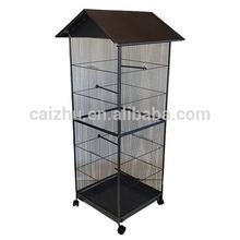 per esterni casa di metallo a forma di grande gabbia uccelli